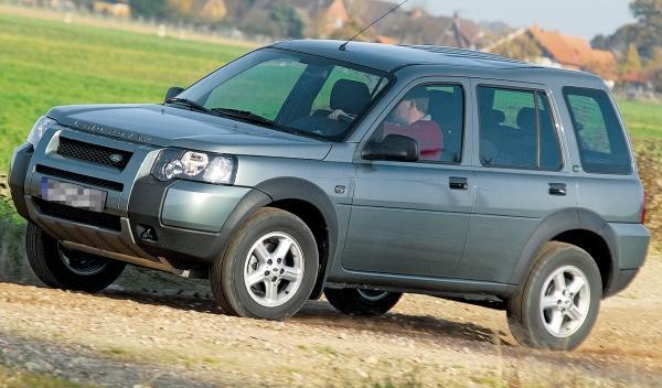 Land Rover Freelander I, perfil
