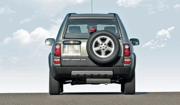 Land Rover Freelander I, trasera