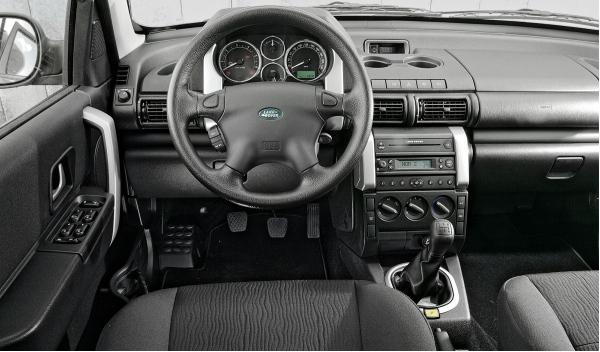 Land Rover Freelander I, interior