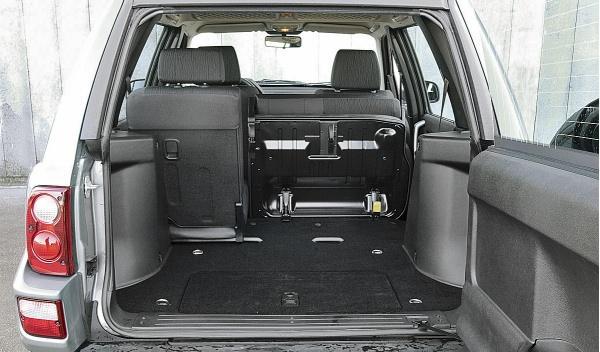 Land Rover Freelander I, maletero