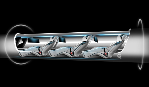 Hyperloop Boceto 3