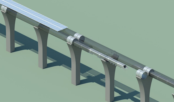 Hyperloop Boceto 4