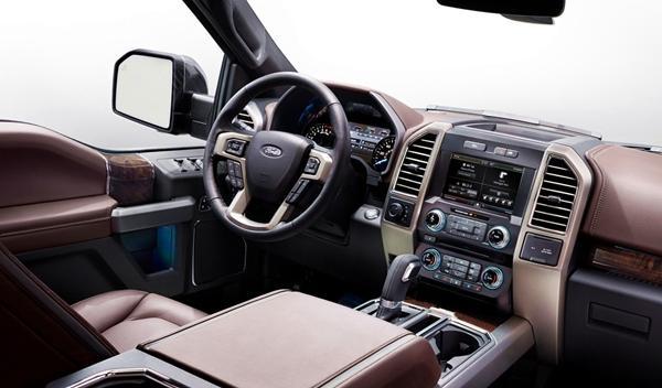 Nuevo Ford F-150, en el Salón de Detroit 2014 interior
