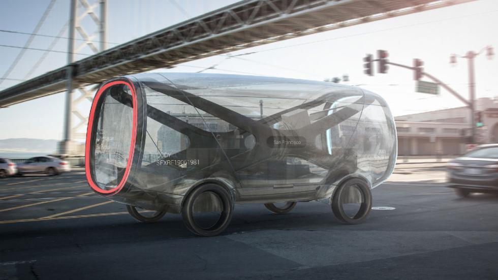 coches autónomos futuro IDEO 21st Century Mule