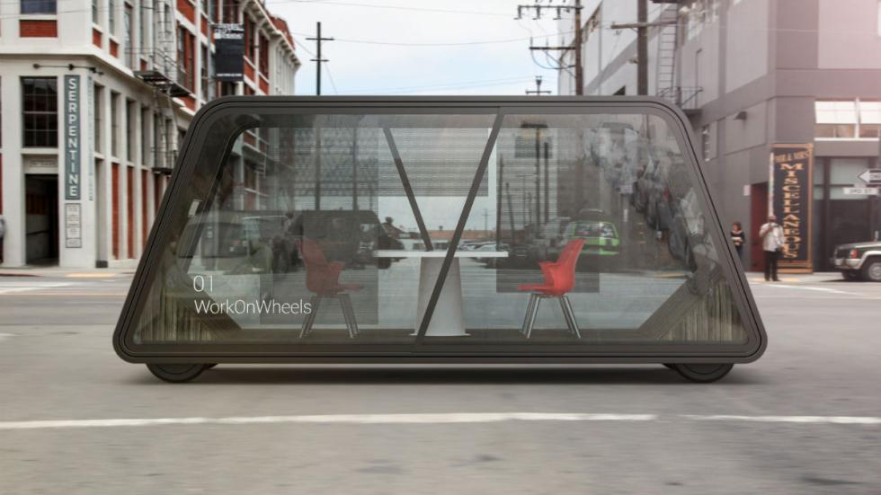 coches autónomos futuro IDEO WorkOnWheels