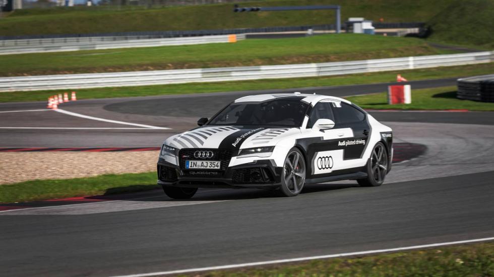 Audi RS 7 autónomo en Hockenheim