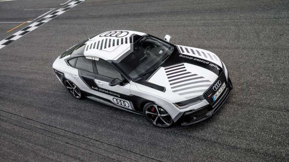 Audi RS 7 autónomo aceleración