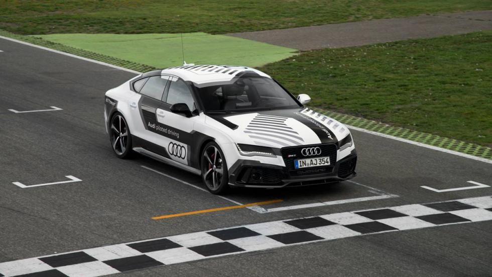 Audi RS 7 autónomo salida