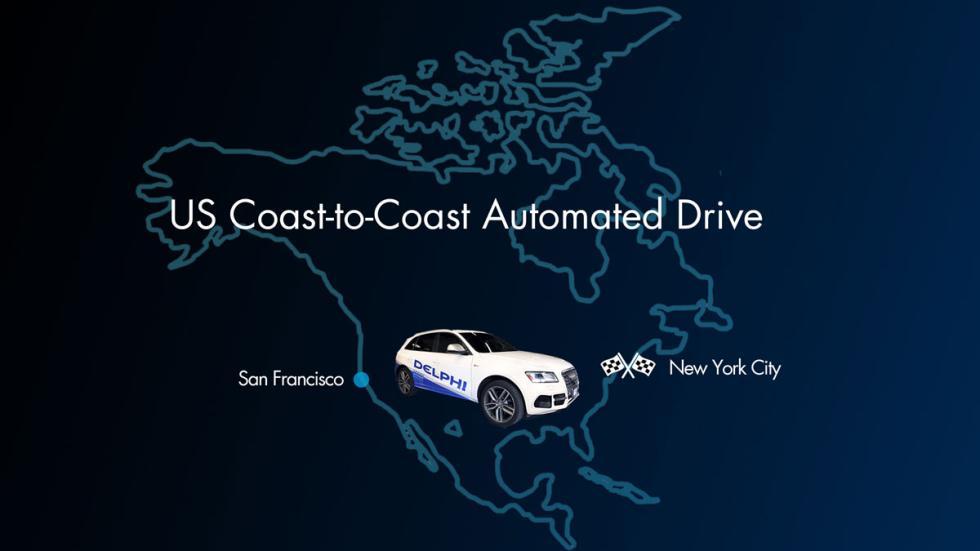 Audi SQ5 autónomo mapa