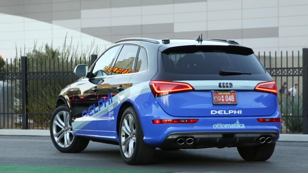 Audi SQ5 autónomo trasera