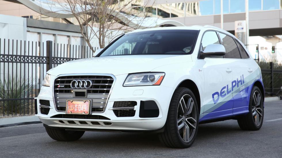Audi SQ5 autónomo