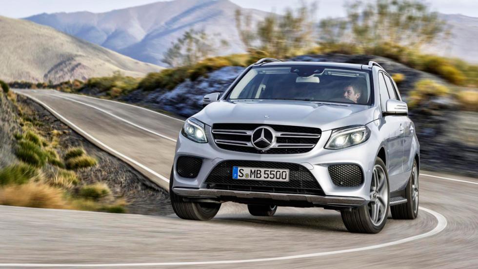 Mercedes GLE 2016 dinamica