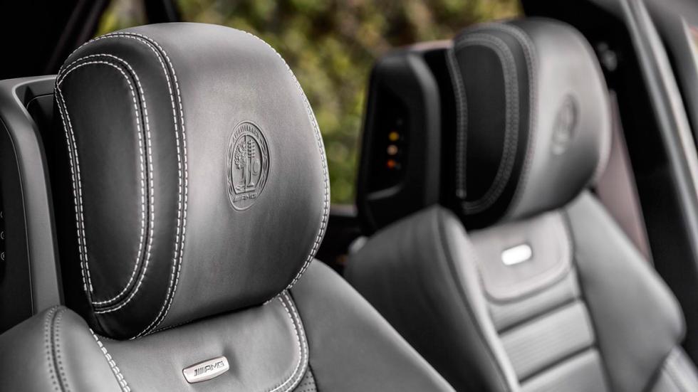 Mercedes GLE 2016 asientos