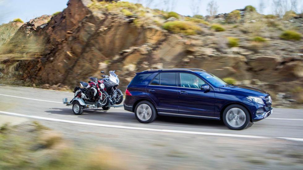 Mercedes GLE 2016 remolque