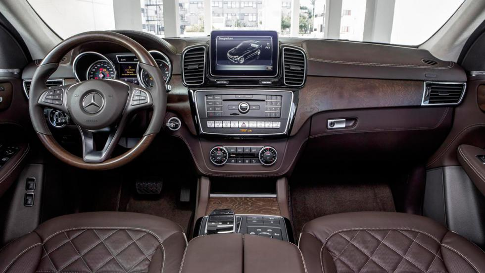 Mercedes GLE 2016 salpicadero
