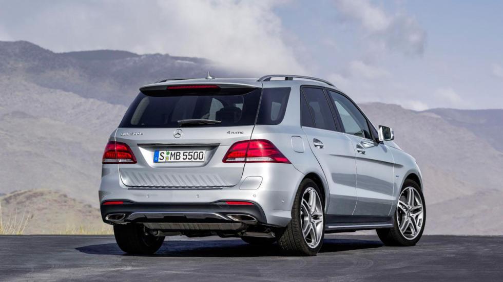 Mercedes GLE 2016 trasera
