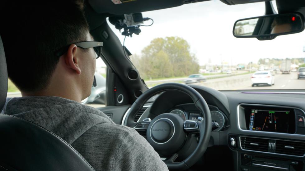 Audi SQ5 autónomo - habitáculo