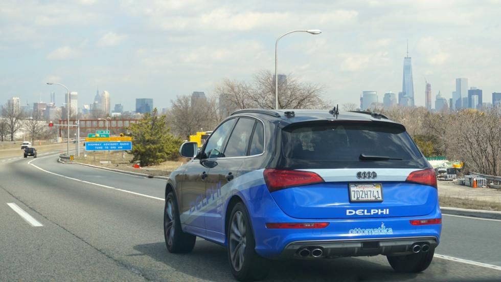 Audi SQ5 autónomo - trasera Nueva York