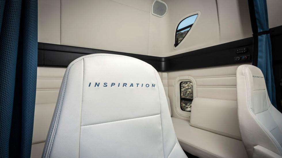 Freightliner Inspiration camión autonomo cabina