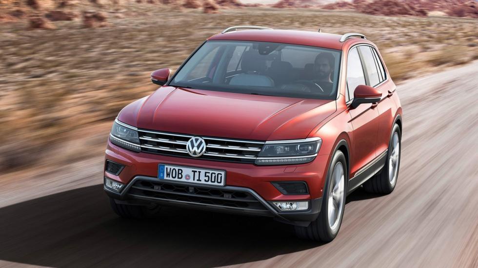 Volkswagen Tiguan 2016 frontal