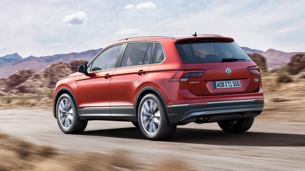 Volkswagen Tiguan 2016 trasera