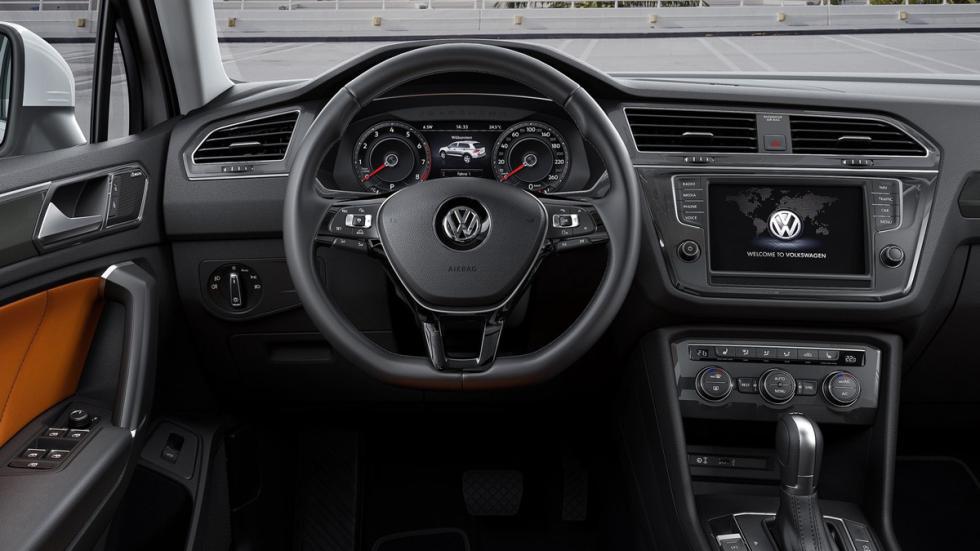 Volkswagen Tiguan 2016 salpicadero