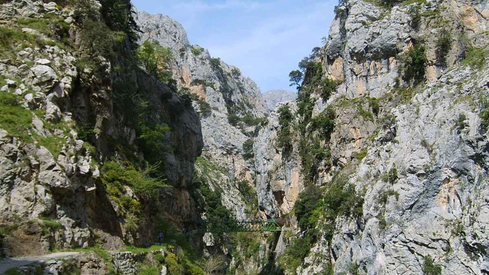 Ruta del Cares, en Picos de Europa.