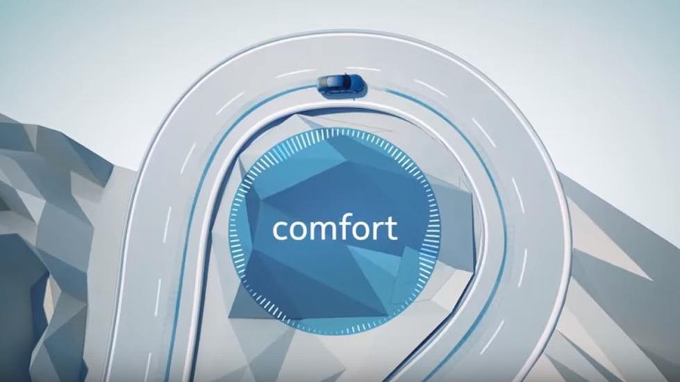 modo 'Sport' o 'Comfort' en el sistema