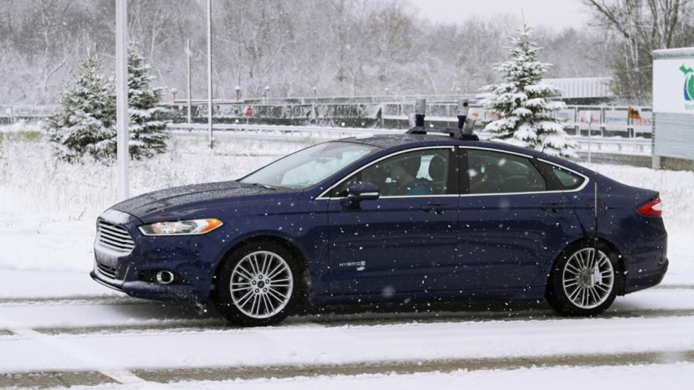 pruebas ford desarrolle coche autonomo