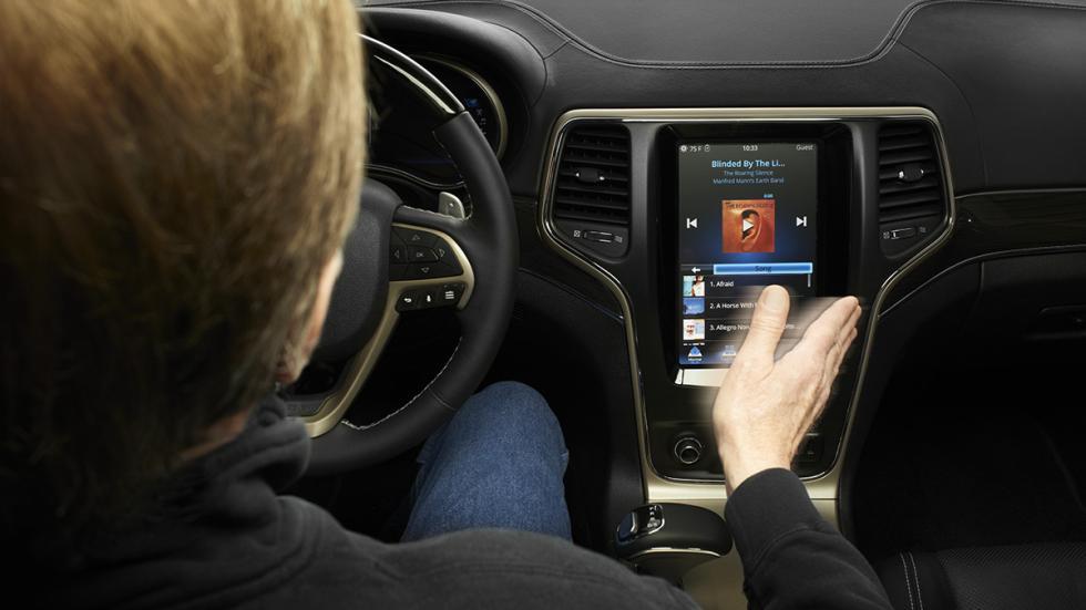 interior coche autonomo delphi