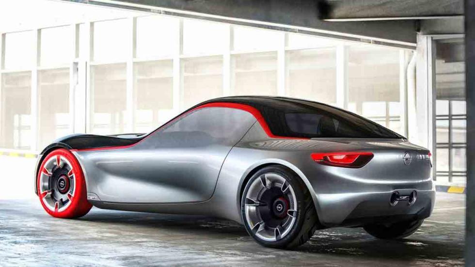Opel GT Concept 2016 tres cuartos traseros