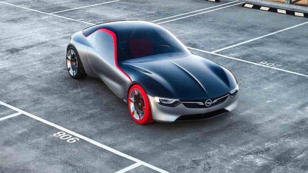 Opel GT Concept 2016 tres cuartos delanteros