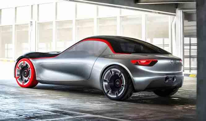 Opel GT Concept 2016 lateral