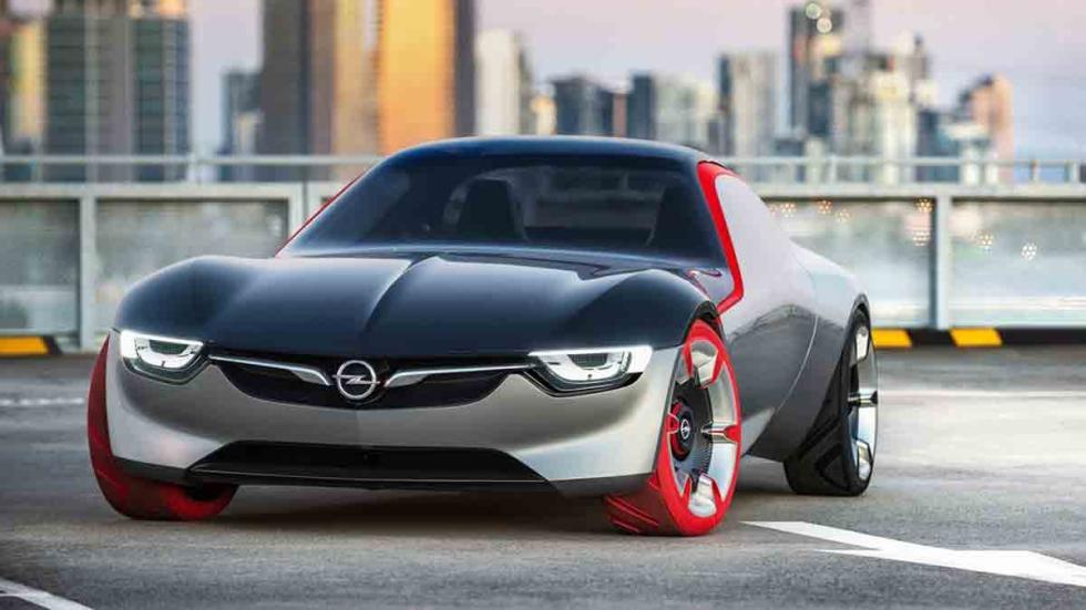 Opel GT Concept 2016 tres cuartos delantero