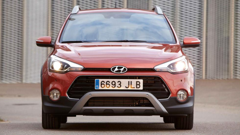 hyundai i20 active frontal