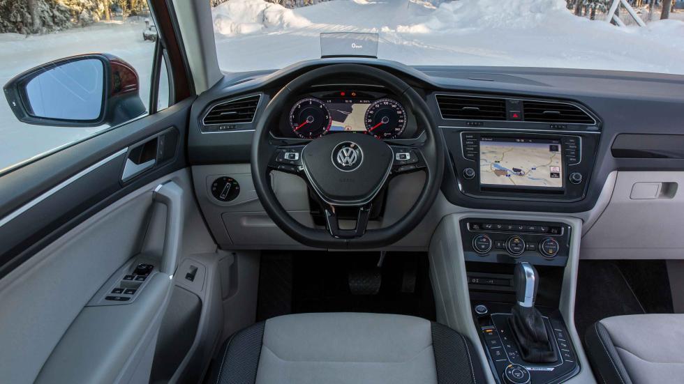 prueba volkswagen tiguan 2016 interior