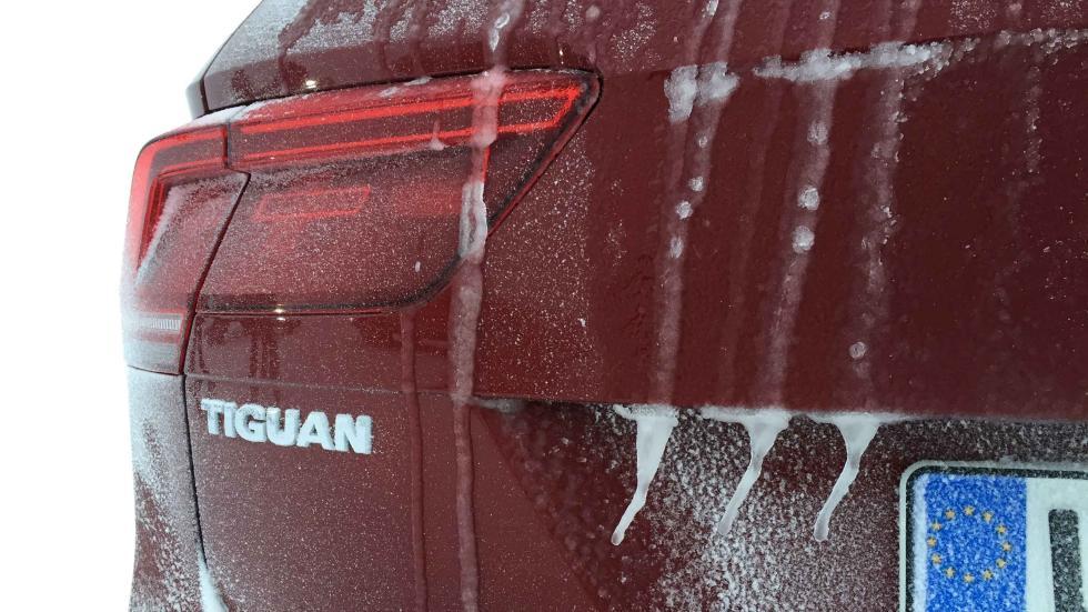Volkswagen Tiguan 2016 zaga helada