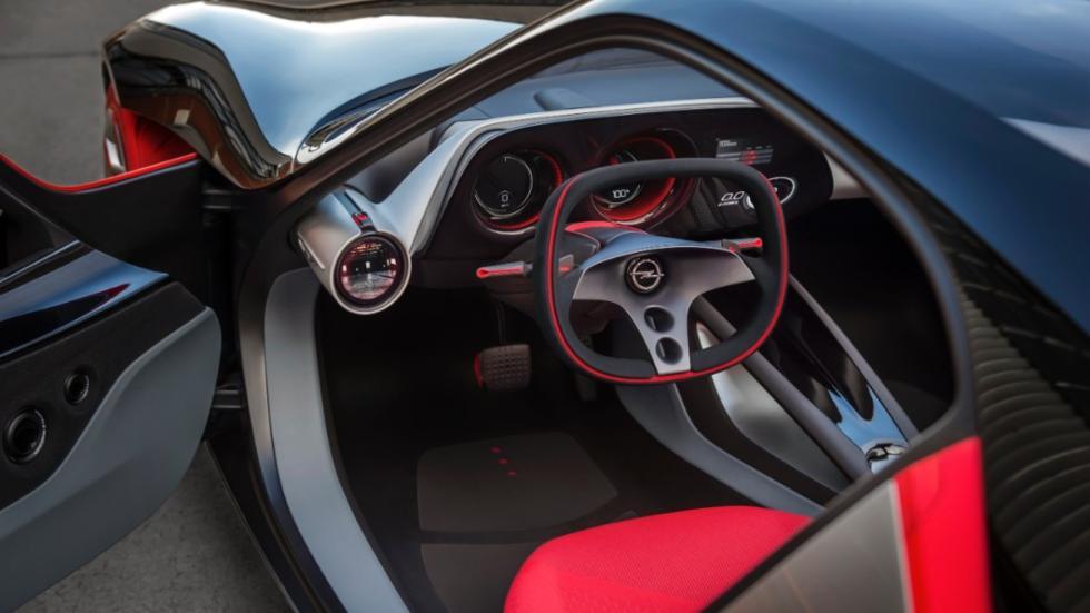 Opel GT concept interior
