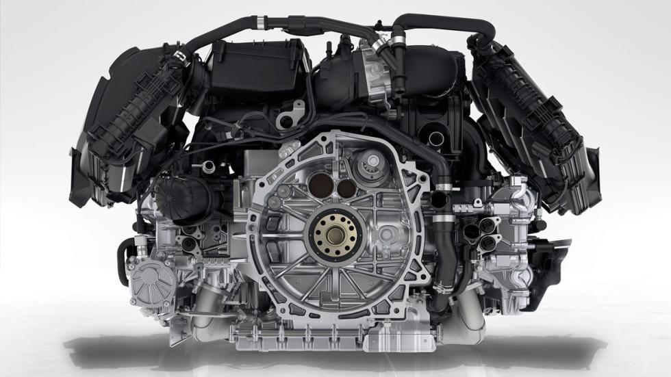 motor del Porsche 718 Boxster