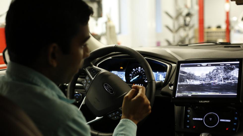 coche autonomo ford sensores invierno