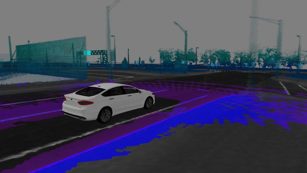 sistema mapeo coche autonomo ford