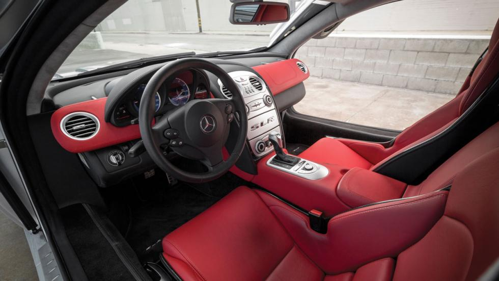 Coches Donald Trump slr interior