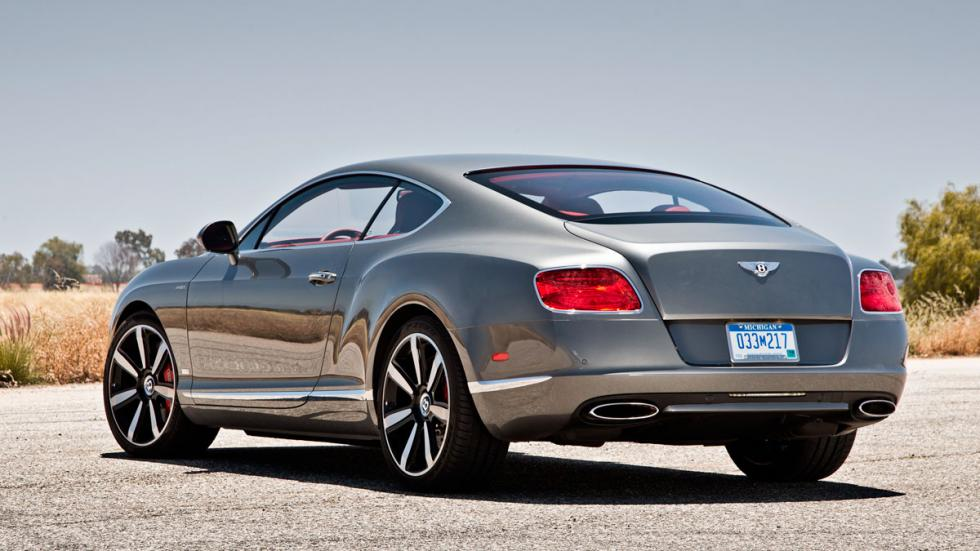 Coches Donald Trump bentley continental gt trasera