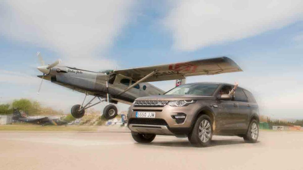 Aldo Comas, con Land Rover