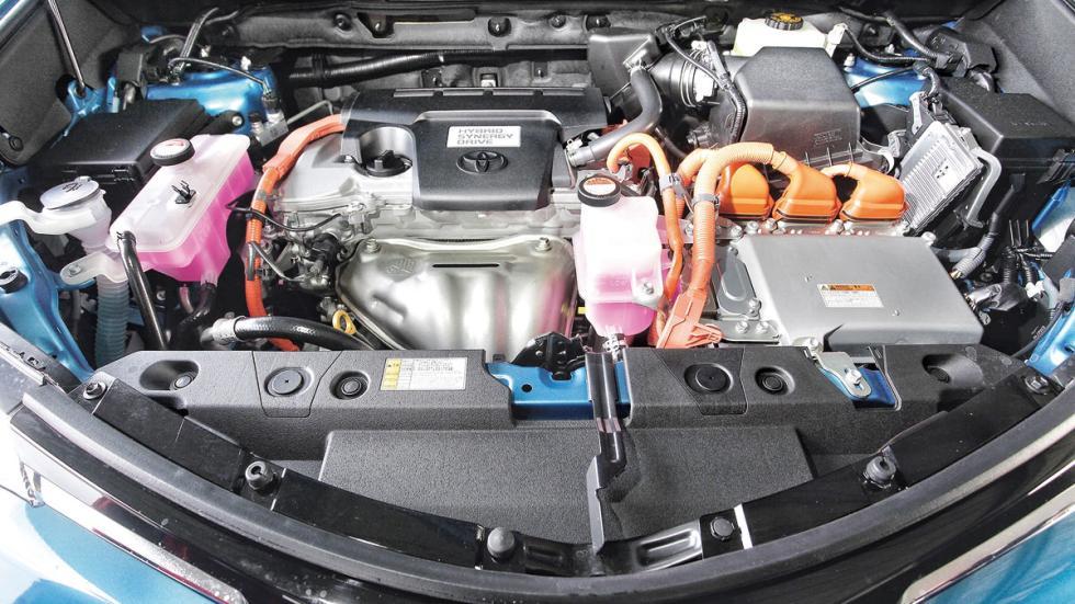 SUV híbridos: Toyota RAV4 Hybrid motor