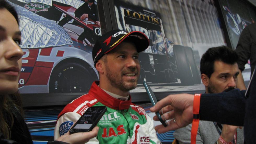 Tiago Monteiro, segundo mejor tiempo con Honda