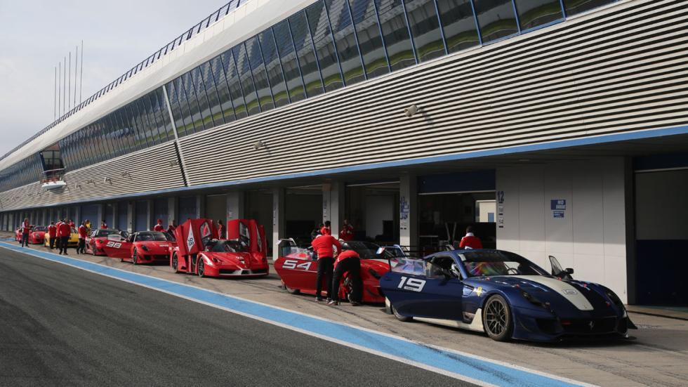 Ferrari Corse Clienti Jerez 2016