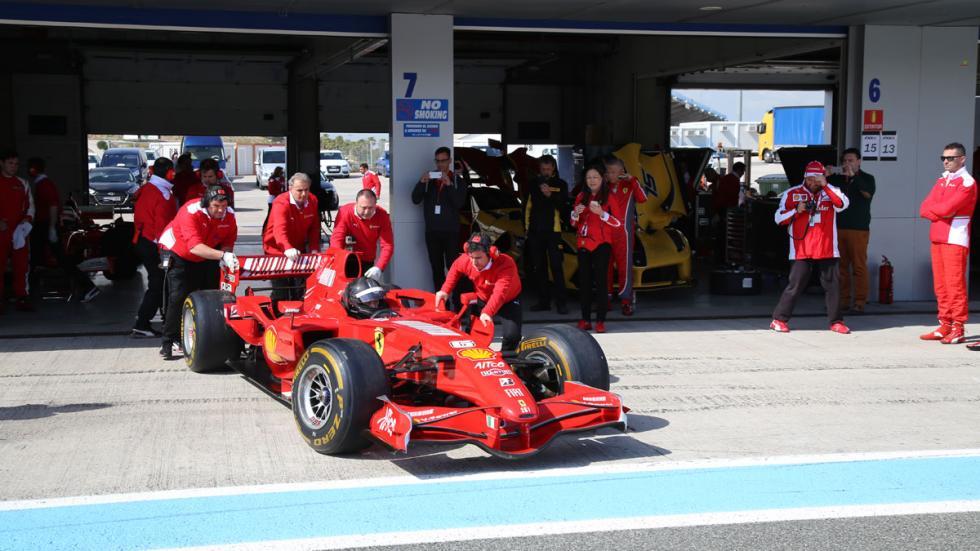 Ferrari Corse Clienti Jerez 2016 F1