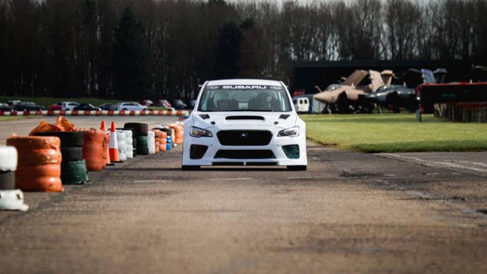 Subaru WRX STI Prodrive Isla de Man morro