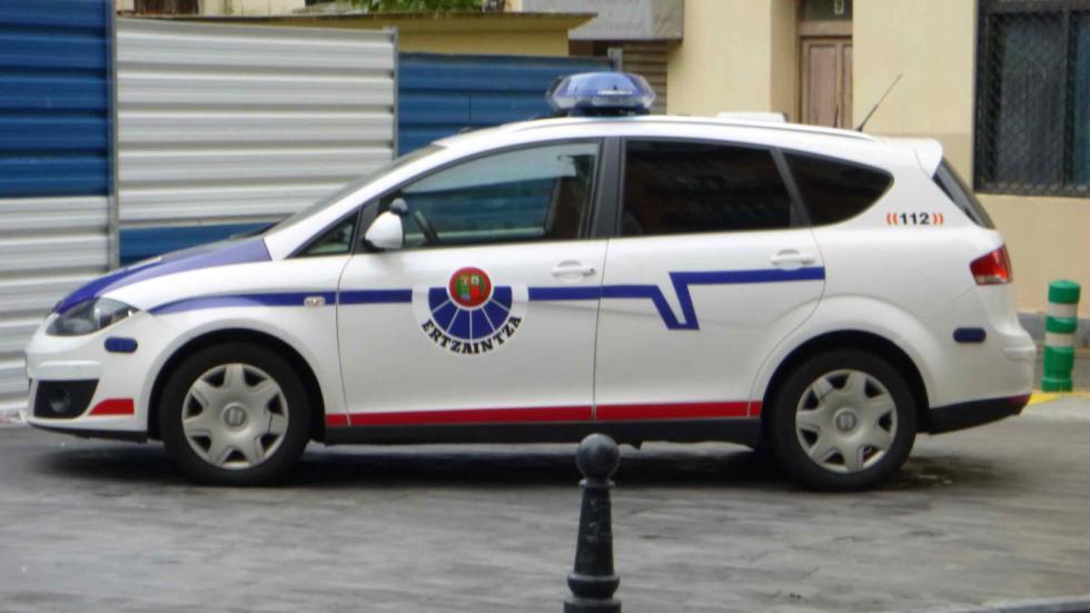 coche Ertzaintza